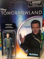 Disney Tomorrowland David Nix Action Figure New Funko Reaction Super7