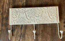 Decorative wall Mounted coat hooks With Three Hooks