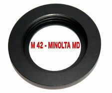 M42 - MD  M42 Objektiv Lens Adapter an -To  Minolta MD MC Kamera Objektivadapter