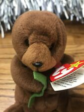 28a34b6bc6b Collector Ty Beanie Babies Seaweed Otter Collectible Plush 4080 Tag Attached