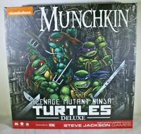 Munchkin Teenage Mutant Ninja Turtles Deluxe Steve Jackson Games
