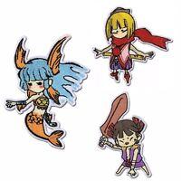 OkamiDen Patch Lot Kurou Nanami Kuninushi Anime Capcom License Okami Den NEW