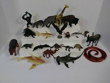 Toy Animal Figure Lot 21 Pc, 1.5-5 inch tall