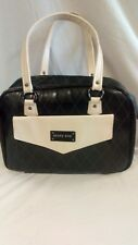 Mary Kay Consultant Bag Large Duffel Case Tote Purse Black and Cream With INSERT
