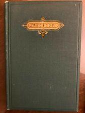 OCCULT BOOK / MAGICON / POPERY / PROPHECIES / 1869 / Twenty-Four Magic Figures