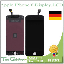 iPHONE 6 DISPLAY SCHWARZ RETINA LCD FRONT GLAS BILD EINHEIT TOUCH SCREEN