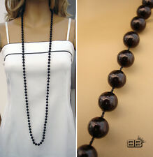 NEW LONG PEARL STRING BEAD WAG COSTUME JEWELLERY NECKLACE