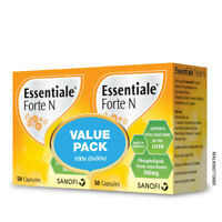 Essentiale Forte N 100S X 2 Liver Detox & Support Liver Tonic Supplement