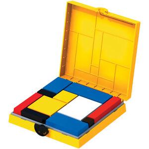 Mondrian Blocks- Yellow Edition