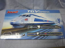 ZA066 JOUEF train HO TGV EXPRESS COFFRET NEUF HJ1024 152x94cm 1:87