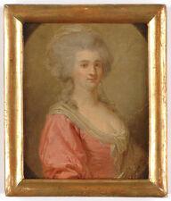 "Joseph Friedrich August Darbes-Attrib. ""Portrait of a Russian (?) lady"""