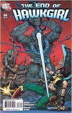 HAWKGIRL #66 / LAST ISSUE / SIMONSON / ARLEM / DC COMICS / JLA / JSA / 2007