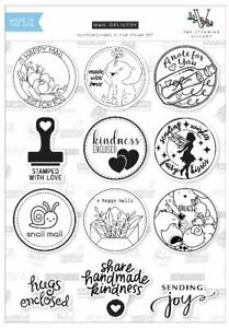 Art Impressions EXCLUSIVE Clear Stamp Set ~ MAIL DELIVERY - BY STAMPING VILLAGE