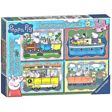Peppa Pig 4 x 42 piece Bumper Puzzle Pack -  BRAND NEW