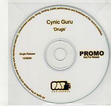 (GI841) Cynic Guru, Drugs - 2006 DJ CD