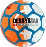 Derbystar Fußball Miniball Street Soccer Freizeitball orange Gr 47cm