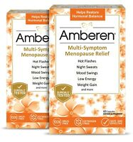 Amberen (Official Store) Multi-Symptom Menopause Relief - 120ct (60 Day Supply)