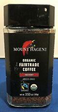 (1) Mount Hagen Organic Fairtrade Coffee Germany Freeze Dried Instant 3.53 Oz