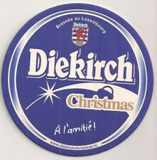 """Diekirch, Luxembourg"" - Sous-bock / bierviltje / Bierdeckel ""Christmas"""