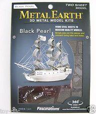 Metallo Terra-BLACK PEARL Nave - 3d Kit Modellino in metallo-Brand New & Sealed!