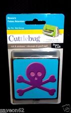 Provo Craft Beware # 37-1821 Cuttlebug Halloween Skull Embossing Folder. NIB