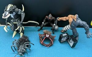 Spiderman Along Came A Spider Carnage and Venom and more Figures Loose Complete