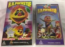 H.R Pufnstuf - 3 Episodes VHS Lot - Double Pack And Single Tape HR H R