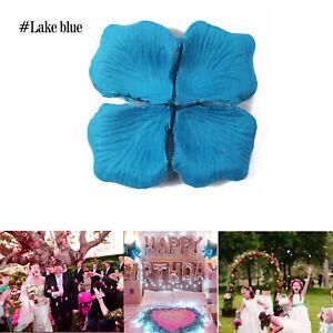 Wholesale 5000pc Various Colors Silk Flower Rose Petals Wedding Party Decoration