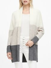 Banana Republic Color-Block Long Cardigan Sweater SIZE XXSP XXS P  #526791 N1206