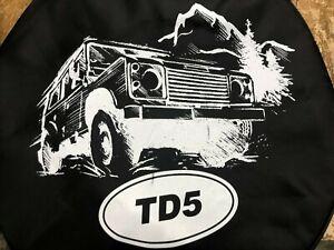 Land Rover TD5 90 Defender Wheel Cover 750