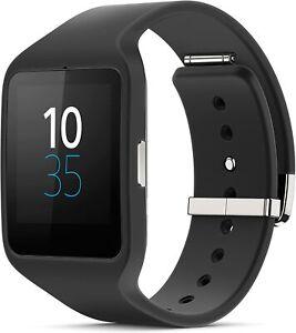 Sony SmartWatch 3 Fitness Activity Tracker Wrist Watch, Black *Missing Strap*