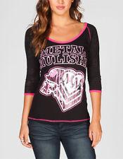 Metal Mulisha Ride It Womens Tee T-Shirt Size X-Small BNWT