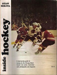 1971 Inside Hockey magazine Step-by-Step Guide Stan Mikita Chicago Blackhawks VG