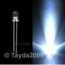 10 x LED 3mm White Ultra Bright - FREE SHIPPING