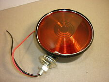 "RED STOP LAMP J-572 SAE-IST-95-DOT 4-3/8"" TURN SIGNAL TAIL UNIVERSAL 2 WIRE"