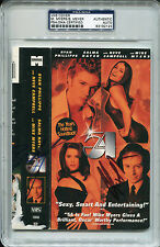 MIKE MYERS & BRECKIN MEYER Signed STUDIO 54 VHS Cover Photo Encapsulated PSA/DNA