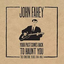 JOHN FAHEY - YOUR PAST COMES BACK TO HAUNT YOU - FONOTONE YEARS  5-CDs + BOOK