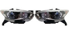 Fit INFINITI QX60 HYBRID JX35 2013-2015 HID HEADLIGHTS HEAD LAMPS LIGHTS PAIR