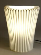 "Art Deco Light Sconce / Torch - By Ikea Stilleben White 9.25"" Tall White"