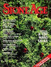 STONE AGE Winter 78 1970s DRUG CULTURE, NORMAN MAILER, OPIUM, HASHISH, PEYOTE