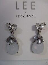 LEE by Lee Angel Opal Drop Crystal Earrings NWT $50
