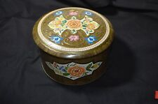 Vintage English Biscuit Tin Tea Tin Daher Designed