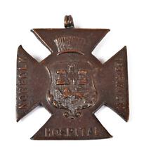 More details for antique old norfolk norwich hospital 1923 certificated nurse award badge medal