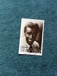 V7a Original Photograph Signed Music Hall Star G H Elliott