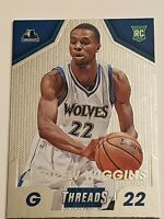 2014-15 Panini Threads Andrew Wiggins Micro-Etch Rookie Card #298 Timberwolves