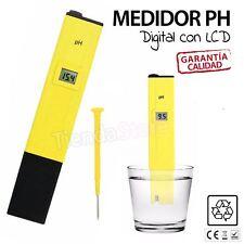 Medidor de PH Digital Tester PHMetro LCD Precision Para Agua Piscina Aquario