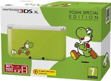 Nintendo 3DS XL Yoshi Special Edition Grün & Weiß Handheld-Spielkonsole