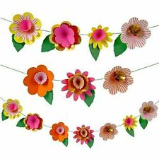 Kit de fête guirlande fleurs fantaisie Pâques