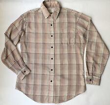 Vintage Kings Road Mens Long Sleeve Plaid Shirt - Sears- Casual/Dress Shirt- M/L