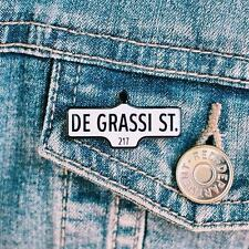 THE DEGRASSI LAPEL PIN - toronto street sign junior high next generation acorn